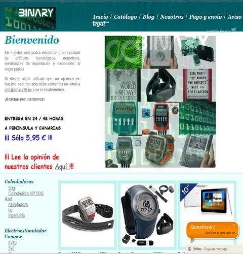 Binary10.es
