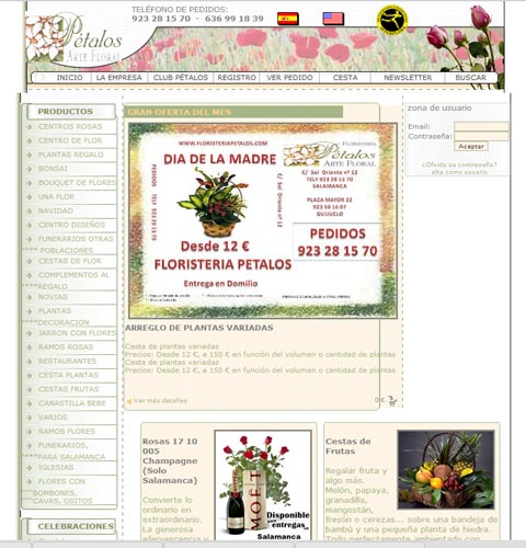 Floristeriapetalos.com