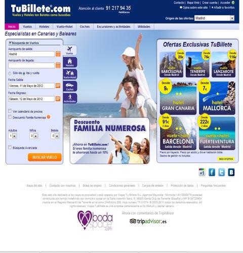 Tubillete.com