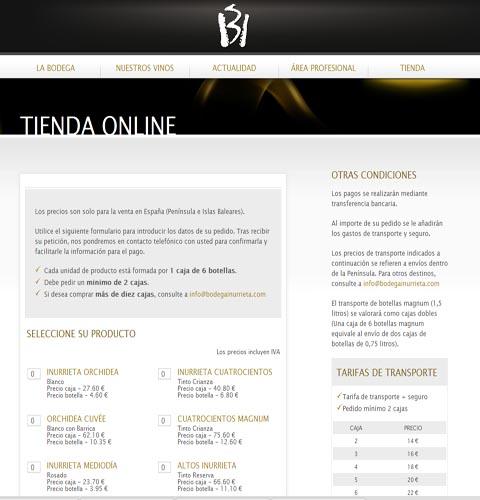 Bodegainurrieta.com