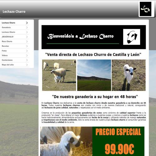 Lechazocharro.es
