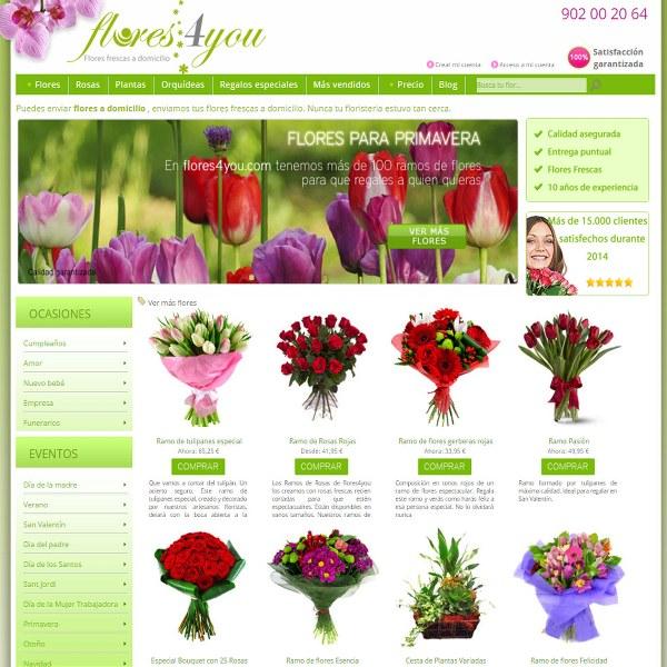 Flores4you.com